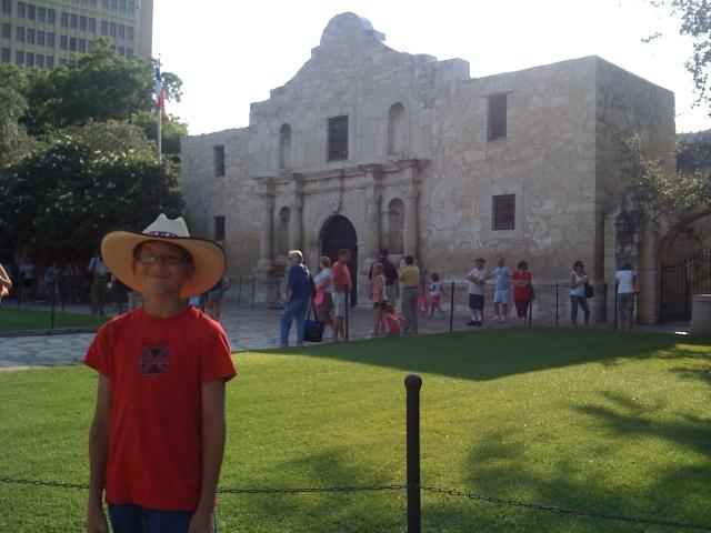 At the Alamo